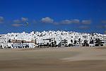 Sandy beach at Conil de la Frontera, Cadiz Province, Spain