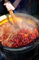 Beef Porkolt ( marhapörkölt). Paprika food festival, Kalocsa. Hungary