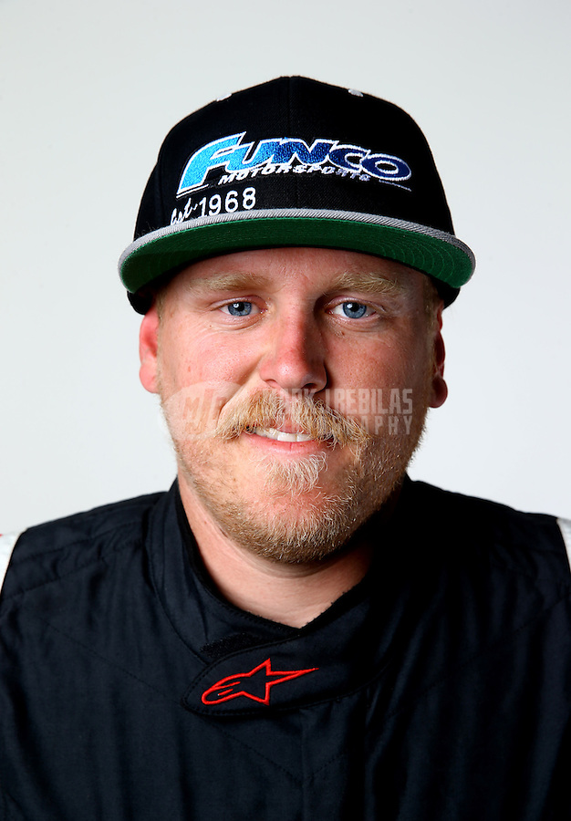 Mar. 21, 2014; Chandler, AZ, USA; LOORRS pro buggy driver Garrett George poses for a portrait prior to round one at Wild Horse Motorsports Park. Mandatory Credit: Mark J. Rebilas-USA TODAY Sports