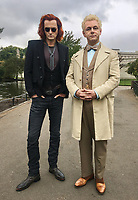 David Tennant and Michael Sheen<br /> Good Omens (2019 - )<br /> *Filmstill - Editorial Use Only*<br /> CAP/RFS<br /> Image supplied by Capital Pictures