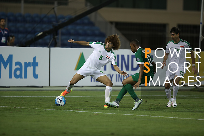 Iraq vs Saudi Arabia during the 2016 AFC U-19 Championship Quarter-Finals match at Khalifa Sports City Stadium on 23 October 2016, in Isa Town, Bahrain. Photo by Isa Ebrahim / Lagardere Sports