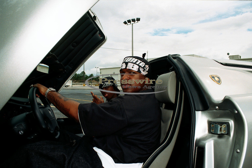 Lil Wayne on the #1 Stunna video shoot in New Orleans on June 17, 2000.  Photo credit:  Presswire News/Elgin Edmonds