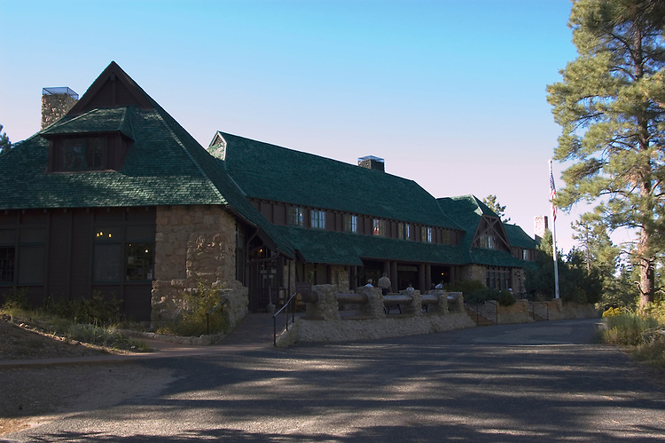 Lodge at Bryce Canyon National Park, Bryce Canyon Lodge, Utah, UT, Southwest America, American Southwest, US, United States, lodging, exterior, tourism, tourist, vacation, travel, hotel, Image ut371-17543, Photo copyright: Lee Foster, www.fostertravel.com, lee@fostertravel.com, 510-549-2202