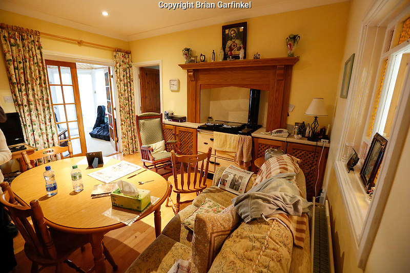 Inside the Caulfield home where he grew up in Granlahan, County Roscommon, Ireland on Tuesday, June 25th 2013. (Photo by Brian Garfinkel)