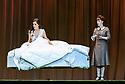 "English National Opera presents Giuseppe Verdi's ""La Traviata"", at the London Coliseum. Directed by ENO's new artistic director, Daniel Kramer. Picture shows: Claudia Boyle (Violetta Valery), Martha Jones (Annina)."