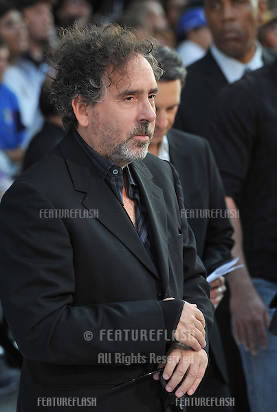 "Director Tim Burton at the premiere of his movie ""Frankenweenie"" at the El Capitan Theatre, Hollywood..September 24, 2012  Los Angeles, CA.Picture: Paul Smith / Featureflash"