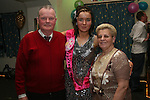 Melissa Campbell with her Grandparents at her 18th in Corrigans...Photo NEWSFILE/Jenny Matthews.(Photo credit should read Jenny Matthews/NEWSFILE)....This Picture has been sent you under the condtions enclosed by:.Newsfile Ltd..The Studio,.Millmount Abbey,.Drogheda,.Co Meath..Ireland..Tel: +353(0)41-9871240.Fax: +353(0)41-9871260.GSM: +353(0)86-2500958.email: pictures@newsfile.ie.www.newsfile.ie.FTP: 193.120.102.198.