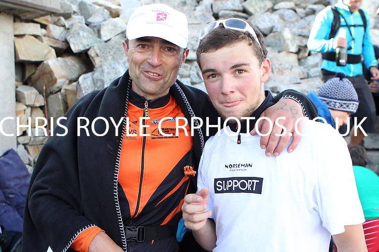Race number 26 - Damien Boix - Norseman Xtreme Tri 2012 - Norway - photo by chris royle/ boxingheaven@gmail.com
