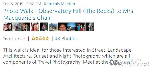 Meetup Photowalk - This walk is ideal for those interested in Street, Landscape, Architecture, Sunset and Night Photography which are all components of Travel Photography. <br />