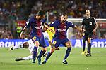 52e Trofeu Joan Gamper.<br /> FC Barcelona vs Chapecoense: 5-0.<br /> Lionel Messi, Moises Ribeiro &amp; Jordi Alba.
