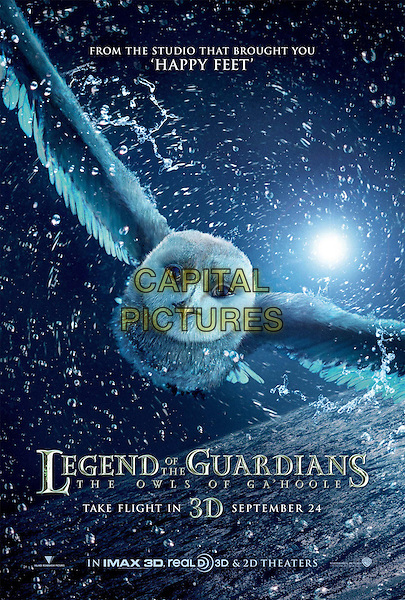ONE SHEET POSTER ART.in Legend of the Guardians: The Owls of Ga'Hoole.*Filmstill - Editorial Use Only*.CAP/FB.Supplied by Capital Pictures.