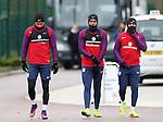 England's Kyle Walker, Daniel Sturridge and Danny Rose during training at Tottenham Hotspur training centre, London. Picture date November 14th, 2016 Pic David Klein/Sportimage