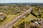 Aerial View of I-5, Vancouver, Washington