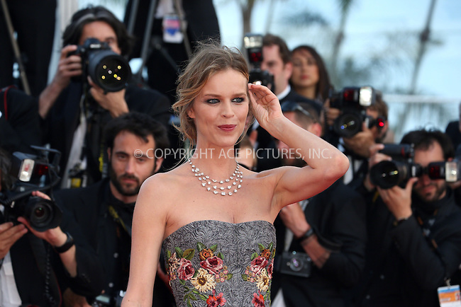 ACEPIXS.COM<br /> <br /> May 20 2014, Cannes<br /> <br /> Eva Herzigova at the premiere of &quot;Two Days, One Night&quot; during the 67th Cannes International Film Festival at Palais des Festivals on May 20 2014 in Cannes, France<br /> <br /> By Line: Famous/ACE Pictures<br /> <br /> ACE Pictures, Inc.<br /> www.acepixs.com<br /> Email: info@acepixs.com<br /> Tel: 646 769 0430