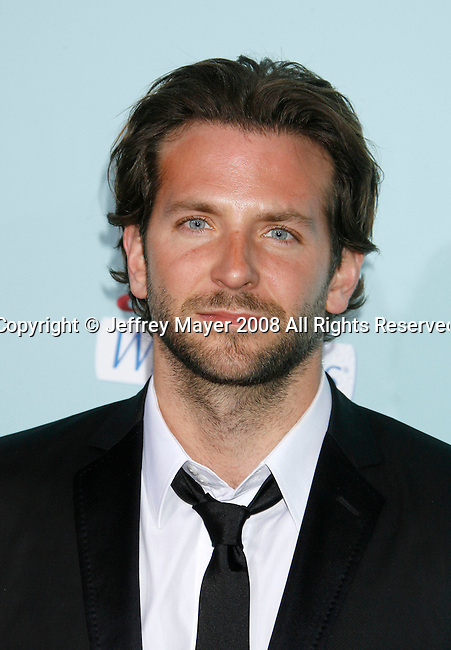 "HOLLYWOOD, CA. - February 02: Actor Bradley Cooper arrives at the Los Angeles Premiere of ""He's Just Not That Into You"" held at the Grauman's Chinese Theatre on February 2, 2009 in Los Angeles, California."