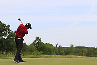 Adam Hadwin (USA) tees off the 4th tee during Friday's Round 2 of the 117th U.S. Open Championship 2017 held at Erin Hills, Erin, Wisconsin, USA. 16th June 2017.<br /> Picture: Eoin Clarke | Golffile<br /> <br /> <br /> All photos usage must carry mandatory copyright credit (&copy; Golffile | Eoin Clarke)