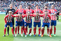 Atletico de Madrid during La Liga match between Real Madrid and Atletico de Madrid at Santiago Bernabeu Stadium in Madrid, Spain. April 08, 2018. (ALTERPHOTOS/Borja B.Hojas) /NortePhoto NORTEPHOTOMEXICO