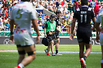 Katherine Rottier. All Blacks Sevens beat Japan 26-14. 16 May 2015. Twickenham, London, England. Photo: Marc Weakley