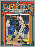 TSN 1992 The Series front cover.