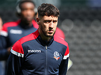 Bolton Wanderers' Will Buckley pictured before the match <br /> <br /> Photographer Andrew Kearns/CameraSport<br /> <br /> The EFL Sky Bet Championship - Derby County v Bolton Wanderers - Saturday 13th April 2019 - Pride Park - Derby<br /> <br /> World Copyright &copy; 2019 CameraSport. All rights reserved. 43 Linden Ave. Countesthorpe. Leicester. England. LE8 5PG - Tel: +44 (0) 116 277 4147 - admin@camerasport.com - www.camerasport.com