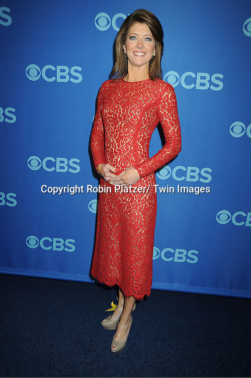 Norah O' Donnell  attends the CBS Prime Time 2013 Upfront on May 15, 2013 at Lincoln Center in New York City.