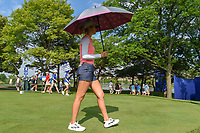 Michelle Wie (USA) heads down 8 during round 4 of the 2018 KPMG Women's PGA Championship, Kemper Lakes Golf Club, at Kildeer, Illinois, USA. 7/1/2018.<br /> Picture: Golffile | Ken Murray<br /> <br /> All photo usage must carry mandatory copyright credit (&copy; Golffile | Ken Murray)