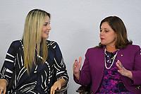 BRASÍLIA, DF, 27.11.2018 – AGENDA-TEMER – A primeira-dama Marcela Temer e a deputada Soraya Santos durante Cerimônia de Enfrentamento à Violência Contra a Mulher na tarde desta terça-feira, 27, no Palácio do Planalto.  (Foto: Ricardo Botelho/Brazil Photo Press/Folhapress)