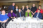Having a good time at the MS, the Listowel Arms Hotel on Friday night were front l-r. Tom Kelly, Brenda O'Gorman, Ted Cronin, Mary Horan and John Costello.  Back l-r. Tony O'Gorman, Val Kelly, Bridie Chute, Annemarie Tydings, Thomas and Costello..