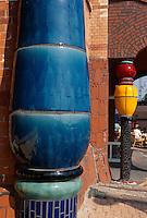 Deutschland, Bahnhof in Uelzen, erbaut von Friedensreich Hundertwasser