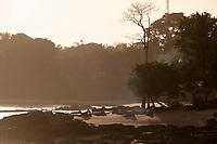 Praias no Mosqueiro banhadas pelas águas da baia do Marajó