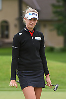 Nelly Korda (USA) watches her birdie attempt on 11 during the round 2 of the KPMG Women's PGA Championship, Hazeltine National, Chaska, Minnesota, USA. 6/21/2019.<br /> Picture: Golffile | Ken Murray<br /> <br /> <br /> All photo usage must carry mandatory copyright credit (© Golffile | Ken Murray)
