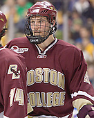 Tim Filangieri - The Boston College Eagles defeated the University of Maine Black Bears 4-1 in the Hockey East Semi-Final at the TD Banknorth Garden on Friday, March 17, 2006.