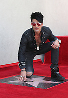 Criss Angel Hollywood Walk Of Fame Ceremony