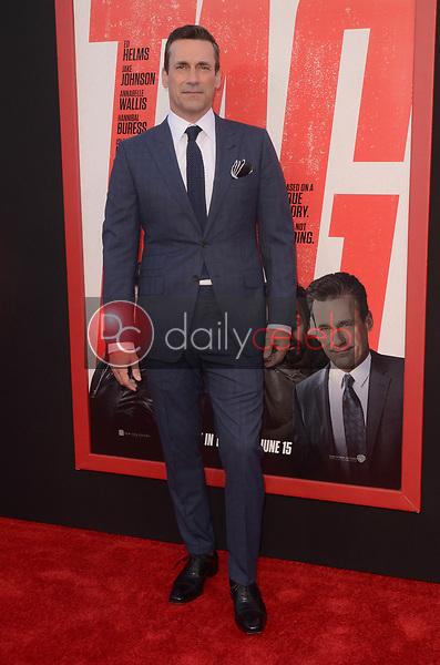 "Jon Hamm<br /> at the ""Tag"" World Premiere, Village Theater, Westwood, CA 06-07-17<br /> David Edwards/DailyCeleb.com 818-249-4998"