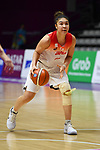 Juna Umezawa Kadysha (JPN), <br /> AUGUST 17, 2018 - Basketball : Women's Qualification round match between Japan 73-105 China at Gelora Bung Karno Basket Hall A during the 2018 Jakarta Palembang Asian Games in Jakarta, Indonesia. (Photo by MATSUO.K/AFLO SPORT)