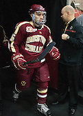 Austin Cangelosi (BC - 26), John Hegarty (BC - Dir-Hockey Ops) - The visiting Boston College Eagles defeated the Harvard University Crimson 5-1 on Wednesday, November 20, 2013, at Bright-Landry Hockey Center in Cambridge, Massachusetts.