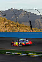Apr 20, 2006; Phoenix, AZ, USA; Nascar Nextel Cup racer Jeff Gordon driver of the (24) DuPont Chevrolet Monte Carlo during qualifying for the Nextel Cup Subway Fresh 500 at Phoenix International Raceway. Mandatory Credit: Mark J. Rebilas-US PRESSWIRE Copyright © 2006 Mark J. Rebilas..