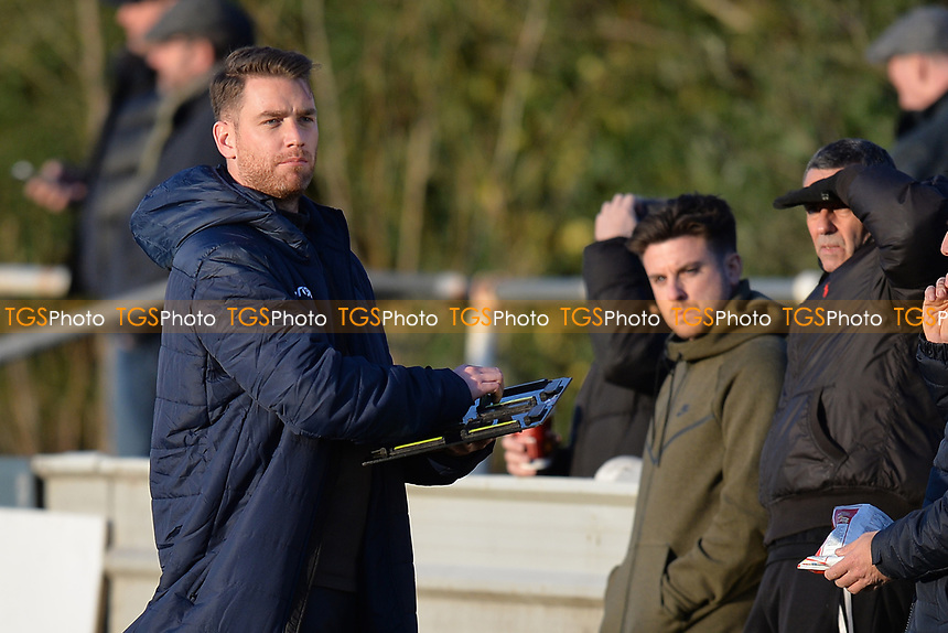 Walthamstow manager Max Mitchell makes some changes during Walthamstow vs Sawbridgeworth Town, Essex Senior League Football at Wadham Lodge Sports Ground on 8th February 2020