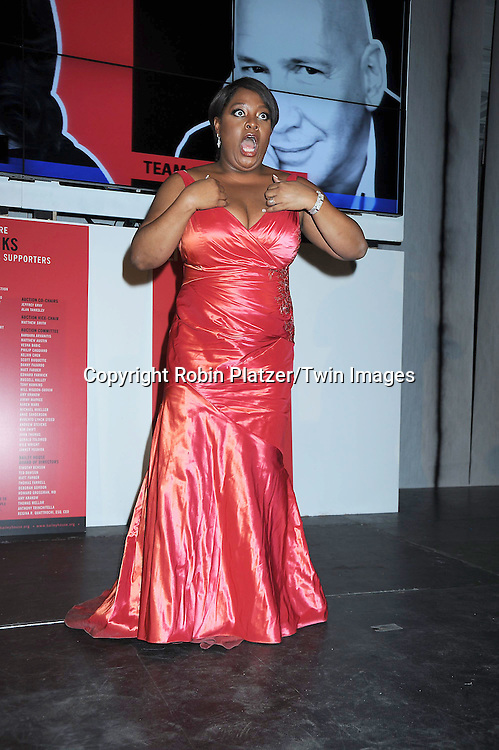 Sherri Shepherd in Carmen Marc Valvo dress attending The 23rd Annual Bailey House and Party on February 23, 2011 at The Lexington Avenue Armory in New York City.