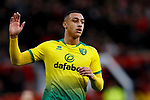 Adam Idah of Norwich City during the Premier League match at Old Trafford, Manchester. Picture date: 11th January 2020. Picture credit should read: James Wilson/Sportimage