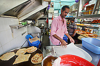 A stall selling Masala Dosa in an area of  Singapore known as Little India, Singapore, 14 March 2015.