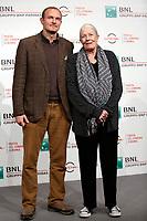 Vanessa Redgrave with her son Carlo Gabriel Nero<br /> Roma 02/11/2017.  Auditorium parco della Musica. Festa del Cinema di Roma 2017.<br /> Rome November 2nd 2017. Rome Film Fest 2017<br /> Foto Samantha Zucchi Insidefoto