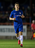 Ruben SAMMUT of Chelsea during the Under 23 Premier League 2 match between Chelsea U23 and Leicester City U23 at the Electrical Services Stadium, Aldershot, England on 2 February 2018. Photo by Andy Rowland / PRiME Media Images.