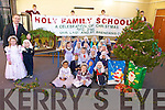 WISHING YOU A VERY MERRY CHRISTMAS: Children from Holy Family national school are currently preparing for their Christmas concert in St. Brendan's Church next Tuesday, December 21st.