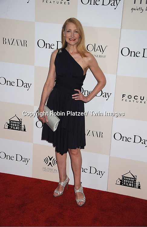 """Patricia Clarkson attending the New York Premiere of """"One Day"""" starring ..Anne Hathaway, Jim Sturgess and Patricia Clarkson on ..August 8, 2011 at The AMC Loews Lincoln Square 13 Theatre in New York City."""