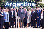20170118. King Felipe VI and Queen Letizia visit FITUR.