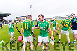 Sean Maunsell Kilmoyley and Mikey Boyle Ballyduff players after a draw in the County Senior Hurling Final at Austin Stack Park on Sunday.