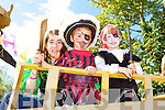 Pirates AHOY: Tina Walker, Liam Walker and Ronan Gaffey at  King Puck parade in Killorglin on Sunday