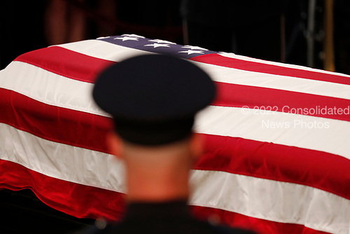 The remains of late U.S. Senator John McCain lie in state inside the U.S. Capitol Rotunda in Washington, U.S., August 31, 2018. REUTERS/Kevin Lamarque