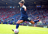 July 25, 2012..Carli Lloyd (10). USA vs France Football match during 2012 Olympic Games at Hampden Park in Glasgow, England. USA defeat France 4-2 after conceding two goals in the first half of the match...(Credit Image: © Mo Khursheed/TFV Media)